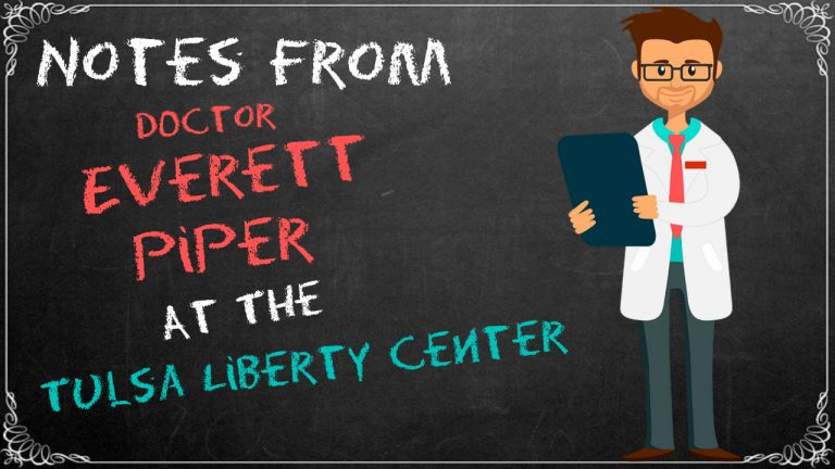 Notes from Dr. Everett Piper at the Tulsa Liberty Center